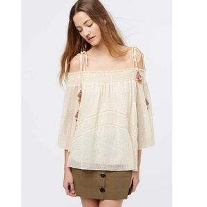 RebeccaMinkoff Casey Off Shoulder Top Blouses